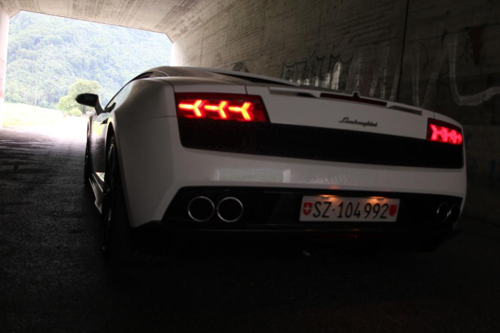 Lamborghini mieten Flums